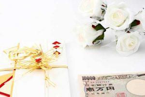 ご祝儀と花