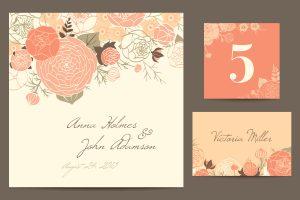 結婚式ゲストカード