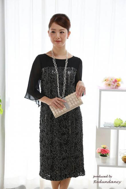 50代女性の結婚式服装